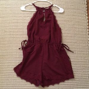 Kendall & Kylie Lace Romper